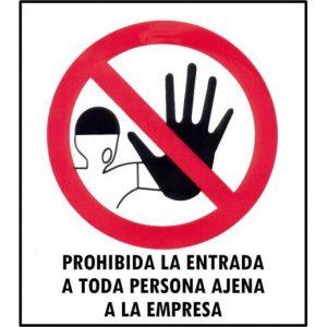 prohibido entrada